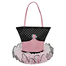 Girls Polka Dots Tutu Dress Tote Purse Bag Sassi Designs