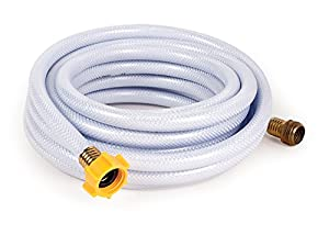 "Camco 25ft TastePURE Drinking Water Hose - Lead and BPA Free, Reinforced for Maximum Kink Resistance 1/2""Inner Diameter (22733)"