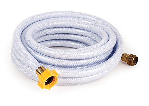 Camco 25ft TastePURE Drinking Water Hose - Lead and BPA Free, Reinforced for Maximum Kink Resistance 1/2