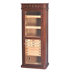 Quality Importers Trading Old English Furniture Humidor