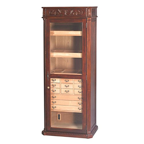 Quality Importers Trading Old English Furniture Humidor by Quality Importers Trading