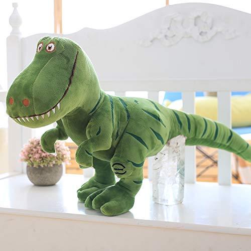 50cm green DONGER Cute Little Dinosaur Doll Toy Cartoon Ragdoll Boy Doll Pillow Birthday Gift, Green, 50Cm
