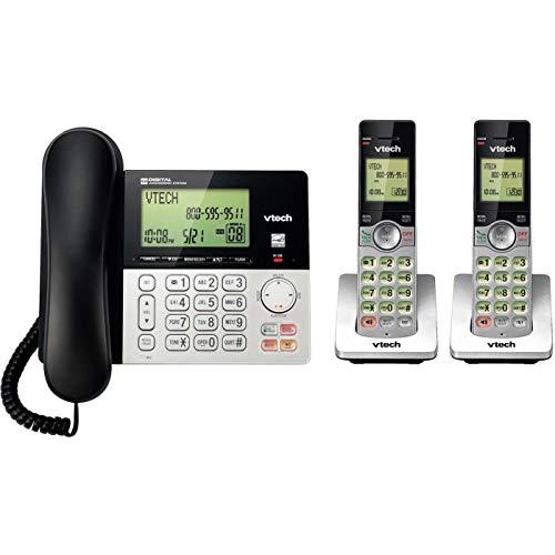 2 Handset Cordless/Corded Digital Answering System (Corded Digital Answering System)