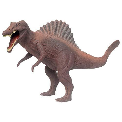 Super Dinossauro Espinossauro Verde + 1 Deck de Cartas - 2 Pçs - Mielle