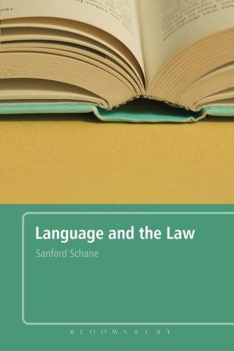 Language and the Law: With a Foreword by Roger W. Shuy by Brand: Bloomsbury Academic