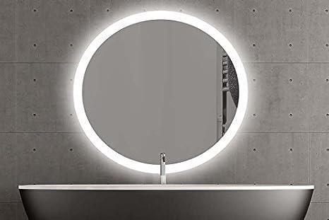 London specchio rotondo con led illuminazione bagno specchio camera