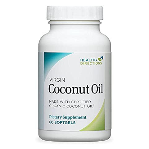 Healthy Directions Coconut Oil (60 softgels, 30-day supply) (Healthy Directions)