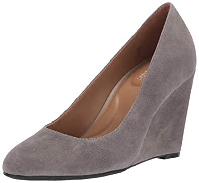 Aerosoles Womens Bandwagon Bandwagon Grey Size: 5
