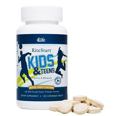 Ritestart® Kids & Teens, 120 Chewable (Kids 120 Chewable)