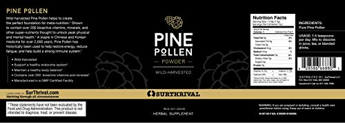 Pine Pollen Powder 48g by Surthrival (Image #5)