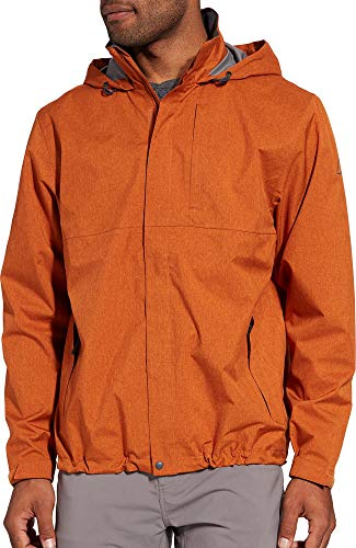 - Alpine Design Men's Altitude Rain Jacket (XL, Autumnal Orange)