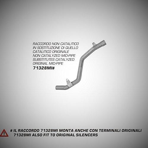 ARROW STEEL LINK PIPE FOR SUZUKI GSR 600 2006-2011