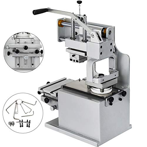 - VEVOR Manual Pad Printer Pad Printing Machine Pad Printing Kit for Logo DIY Transfer