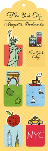 new york bookmark - 3