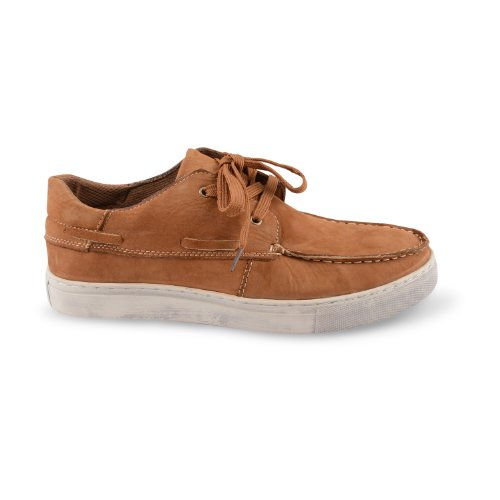 Footwear Sensation - Náuticos para hombre marrón marrón marrón - Tan Nubuck Leather