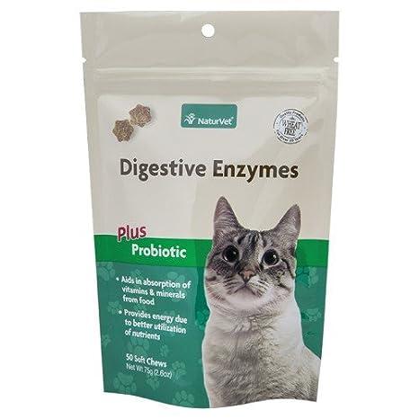 NaturVet 50 Count Digestivo Enzimas Plus Probiotics 2 en 1 ...