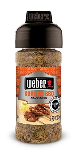 Weber Korean BBQ Seasoning, 2.9 Ounces, Pack of 3