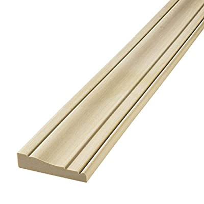 """FLEXTRIM #445 Flexible Casing Molding: 11/16"""" Thick x 3.25"""" Wide - for Gentle Arches, Curved Walls and Straight Runs"""