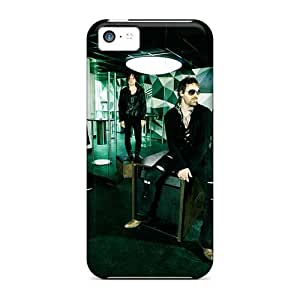 TammyCullen Iphone 5c Shockproof Hard Phone Case Unique Design Colorful 30 Seconds To Mars Band 3STM Pictures [LiX19932NKVx]
