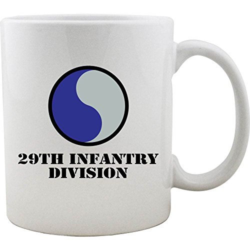 Army 29th Infantry Division 11oz. Coffee Mug