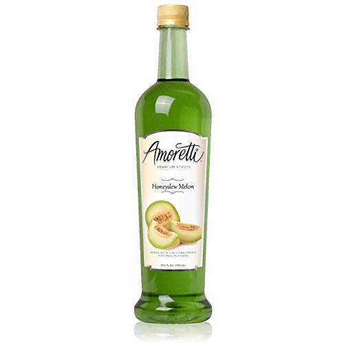 Amoretti Premium Syrup, Honeydew Melon, 25.4 Ounce (Green Tea Melon Tea)