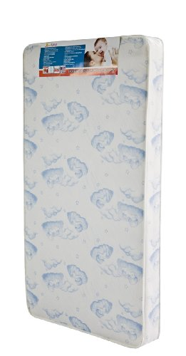 Dream On Me 88 Coil Spring Crib and Toddler Bed Mattress, Sweet Dreams, 6