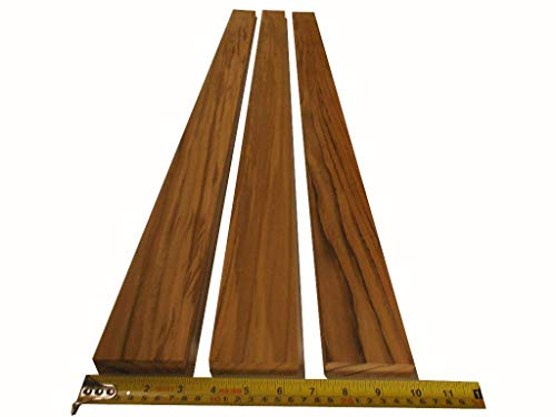 (PLANED + Sanded Teak 48 inches Long X 2.75 inches Wide X 3/4 inches Thick Teak for Benches, spearguns, decking)
