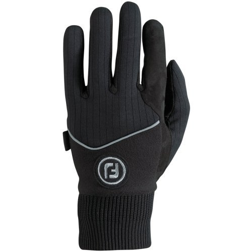 FootJoy WinterSof Golf Gloves (1 Pair) (Black, S)