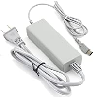 Ortz® Wii U GamePad Power Charging Adapter & USB Cable - Best Power Supply Charger Cord for the Wii U GamePad