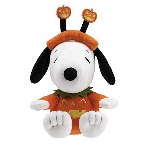 (Hallmark Snoopy Stuffed Animal in Pumpkin)