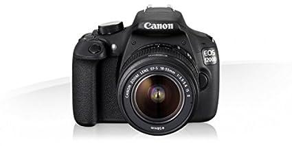 Canon EOS 1200D + EF-S 18-55 DC III - Cámara digital (Auto, Nublado, Modos personalizados, Luz de día, Flash, Fluorescente, Sombra, Tungsteno, Acercamiento (macro), Paisaje, Retrato nocturno, Retrato, Deportes, Prioridad de apertura, Manual, Prioridad de obturador, Blanco y Negro, Electrical, Batería)