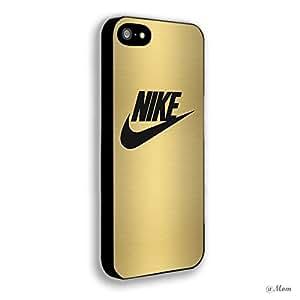 Gold NIKE Iphone 4/4s 5 5c 6 6plus Case (iphone 5 black)