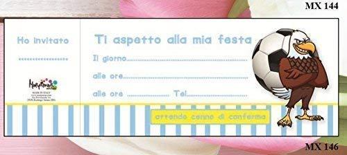 Inviti Feste Bloque Libro de 20 Invitaciones Cumpleaños ...