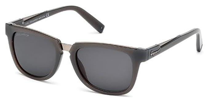 Amazon.com: Dsquared anteojos de sol DQ0106 20 A gris/otros ...