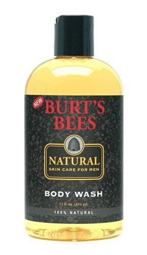 Bees Natural Skin Care for Men de Burt Body Wash, 12 onces liquides (pack de 3)