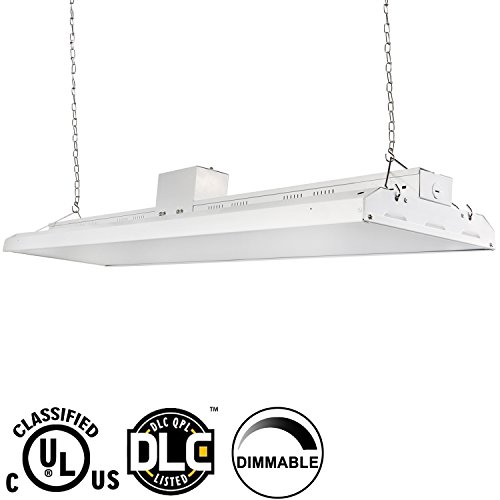 4 Bulb Lamp T8 Led High Bay Warehouse Shop Garage: Hykolity 4' LED High Bay Shop Light Fixture 225W [800W