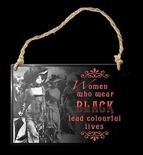 Figuren Shop Gmbh Gracioso Cartel de Puerta - Mujer Who Wear ...