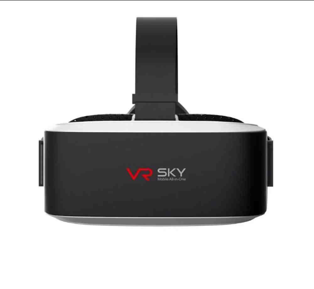 TechComm Metis 16GB 3D VR Headset with 360-Degree Gyroscope Wi-Fi Bluetooth
