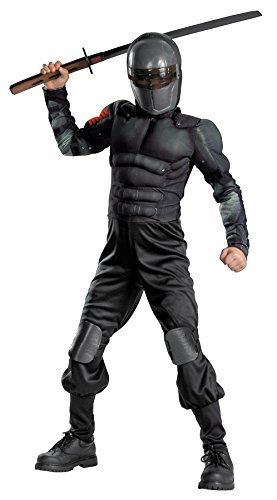 [Morris Costumes SNAKE EYES CLASS MUSCLE CH 7-8] (Abba Jumpsuit Costume)