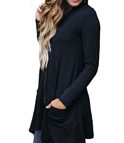 Zip Hood Sweatshirt - 1