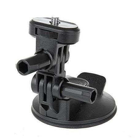 pangshi ® Car Suction Cup Mount Tropod Holder For Sony Action Cam HDR-AS200V AS100V AS30V AS20V AZ1 FDR-X1000VR AEE Camera...