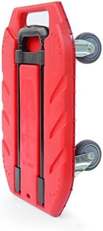 ZQZ ハンドトラック 折りたたみレバー 車 ハンド トラック リトルプル 車 ホイール プル トラック 荷台 キング トロリー ポータブル 荷物 トレーラー アウトドア (#) ZQ-014