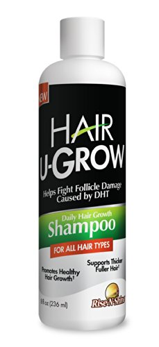 Price comparison product image Hair U Grow Daily Shampoo - Best Selling Shampoo for Hair Growth, Thinning Hair, Hair Loss and Thicker, Fuller, Healthy Hair; with Natural Ingredients to Promote Healthy Hair Growth for Men and Women