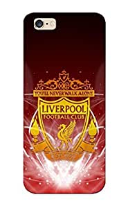 Iphone 6 Plus Hard Back With Bumper Silicone Gel Tpu Case Cover For Lover's Gift Liverpool Football Club