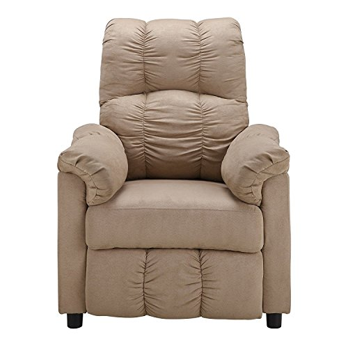 Dorel Living Slim Recliner Beige  sc 1 st  Amazon.com & Small Reclining Chair: Amazon.com islam-shia.org