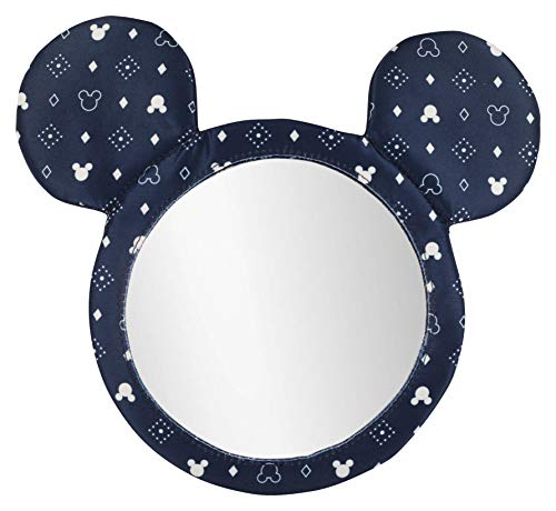 Disney Mickey Mouse Infant Rear Facing Travel Mirror Printed Material ()