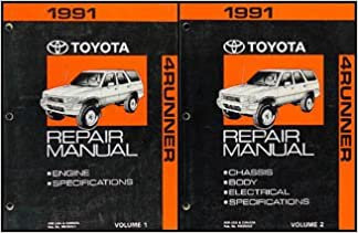 1991 toyota 4runner wiring diagram manual original: toyota: amazon com:  books