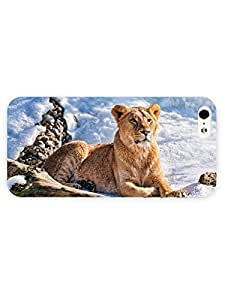 3d Full Wrap Case for iPhone 6 plus Animal Beautiful Lioness In The Snow