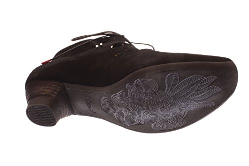 up Lace schwarz 00 80255 Woman Black Schwarz Shoes P5Xwx7dq