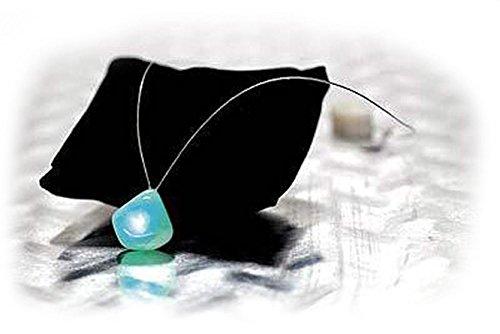 Spiritual Quartz Necklace Rose Crystal Fuze Color Glow Lights Natural Heal (Fuze Necklace)